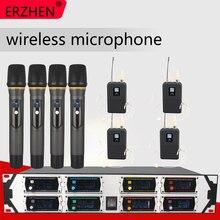 Wireless Microphone New U9000GTA UHF 8 Channel Fixed Frequency + Dynamic Screen KTV Professional
