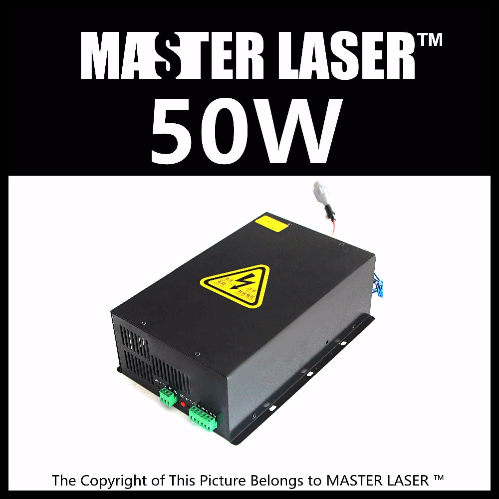 Good quality Low Price High Power HY-T50 CO2 Laser Power Supply 50W Laser Machine for Engraving and Cutting