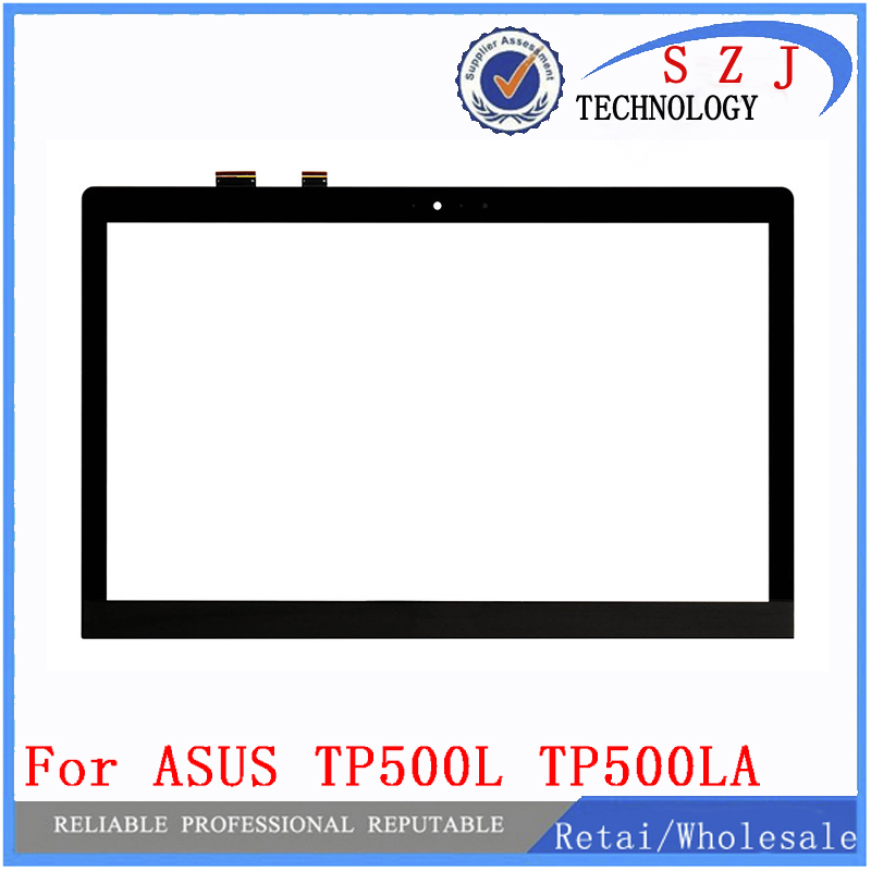 New 15.6'' inch Digitizer Touch Screen Panel Glass for ASUS TRANSFORMER BOOK FLIP TP500 TP500L TP500LA TP500LN Free shipping new for asus eee pad transformer prime tf201 version 1 0 touch screen glass digitizer panel tools