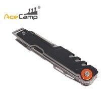 AceCamp 11 в 1 Multi Инструменты карман ножи открывалка для бутылок Набор отверток выживания ручной нож мини-ножницы Кемпинг объединить инструменты