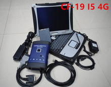 Alta qualidade g/m mdi múltipla interface de diagnóstico com conexão wi-fi suporte tech2 e gds software ssd em CF-19 i5 portátil