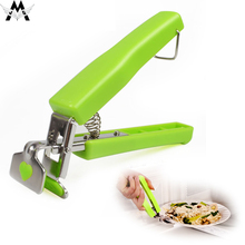 Pot Clips Hot Bowl Holder Dish Clamp Pan Gripper Clip Plate Retriever Tongs Silicone Handle Kitchen Tool