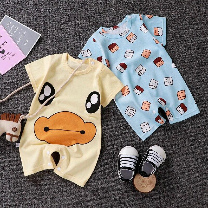 HTB1fRp2LSzqK1RjSZFHq6z3CpXas Uniesx Newborn Baby Rompers Clothing Infant Jumpsuits 100%Cotton Stripe Children Roupa De  Girls&Boys Baby Clothes