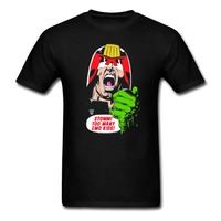 ANTHRAX JUDGE DREDD EMO KIDS T Shirt Men And Women Metal Rock Tee