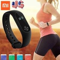 Stock Xiaomi Mi Band 2 Smart Bracelet Heart Rate Monitor Xiaomi Miband 2 Smart Wristbands Mi