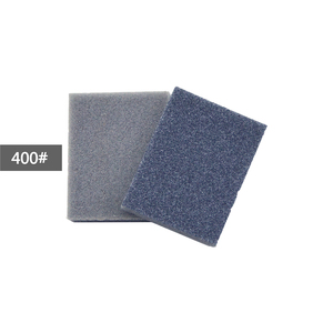 Image 3 - POLIWELL 12Pcs Rectangular Sanding Sponge Block Pad Sandpaper 400 1000 1500 3000 Grit Abrasive Tools Sandpaper Sanding Discs