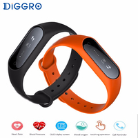 Diggro Y2 Plus Waterproof IPX67 Smart Wristband Heart Rate Sleep Monitor Bracelet Band Fitness Tracker For