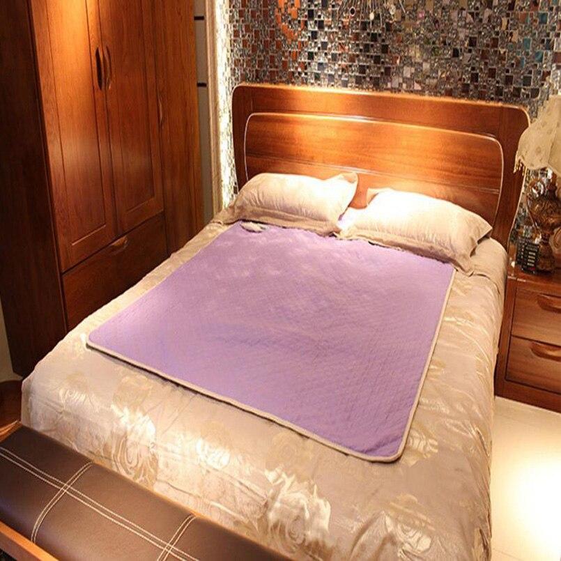 Couverture électrique de luxe couverture chauffante couverture électrique de sécurité plus épaisse Double tapis électrique simple réchauffeur de corps