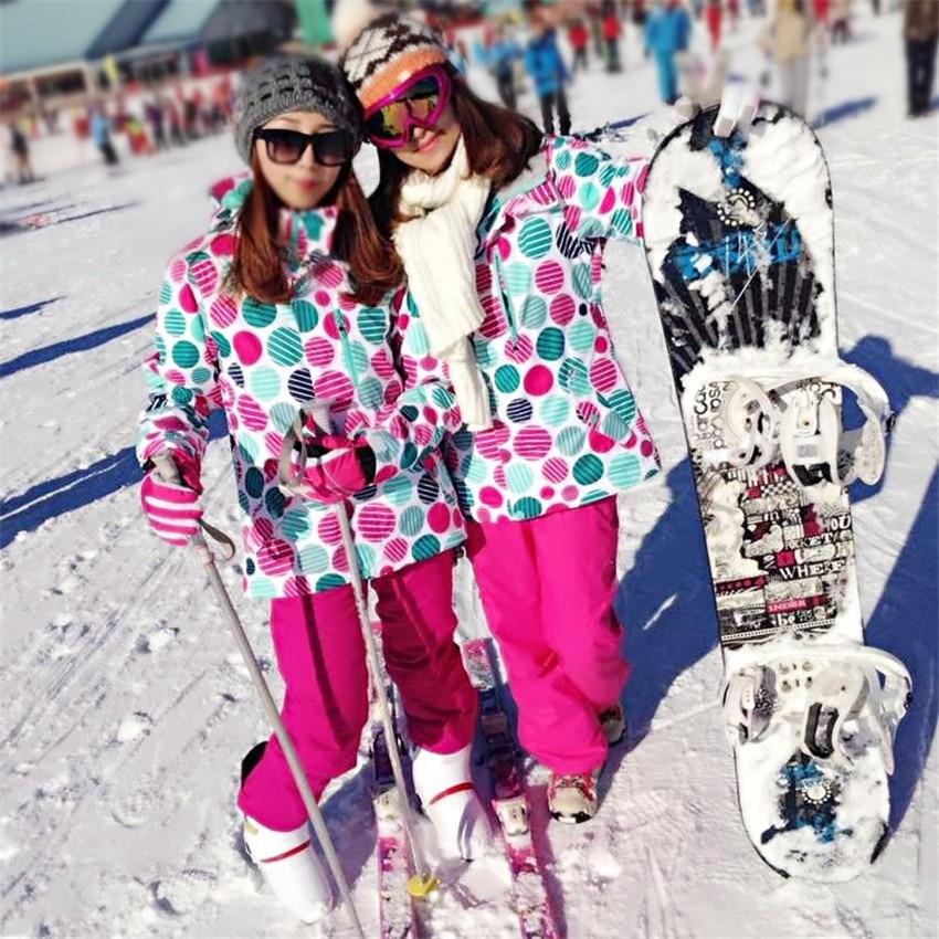 Prix pour Hiver en plein air vestes de ski de haute qualité coupe-vent imperméable respirant vêtements de ski chaud livraison gratuite