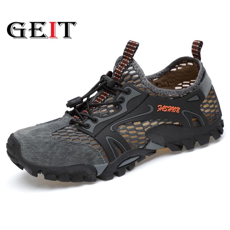 Hiking Shoes Mesh (Air mesh) Breathable Light Shoes Beach&Outdoor Sport Sandals Mountaineer Walking Climbing Trip SneakersHiking Shoes Mesh (Air mesh) Breathable Light Shoes Beach&Outdoor Sport Sandals Mountaineer Walking Climbing Trip Sneakers