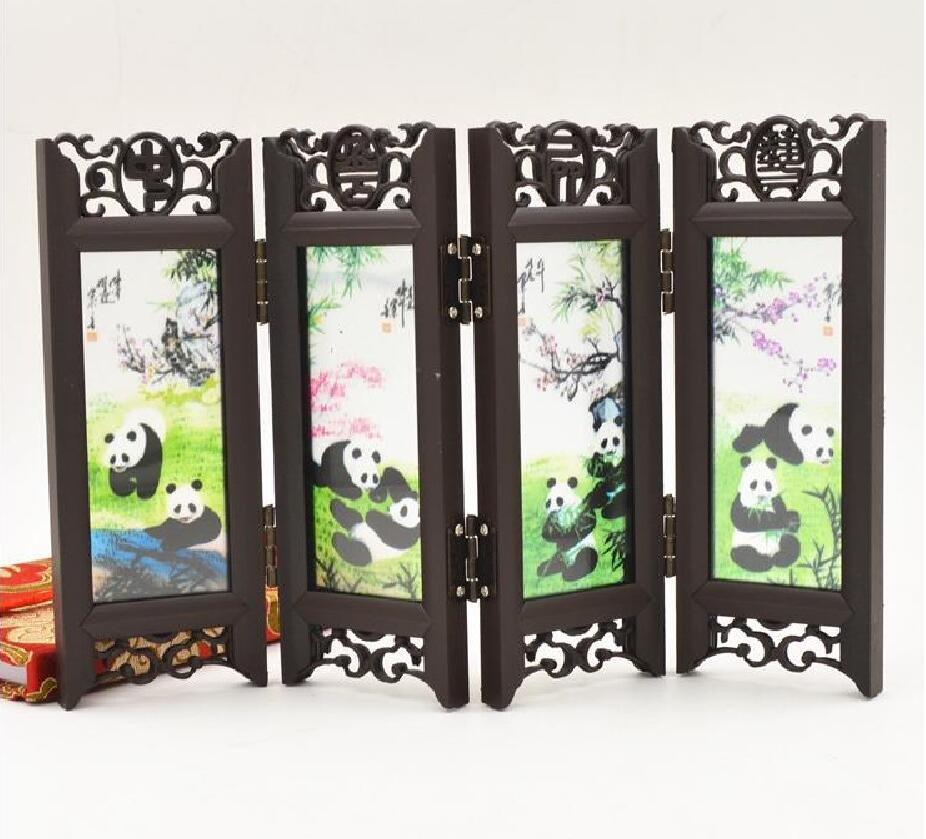 Zhang Da Qian Der Landschaft Gemälde Schlussverkauf Kunsthandwerk Mit Chinesischen Charakteristika Kleinen Bildschirm Ornamente #411