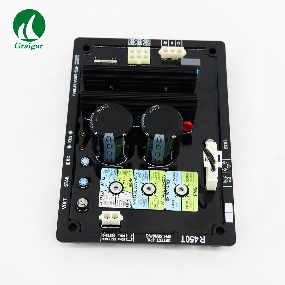 Régulateur de tension triphasé de générateur sans brosse à ca de la chine AVR R450T
