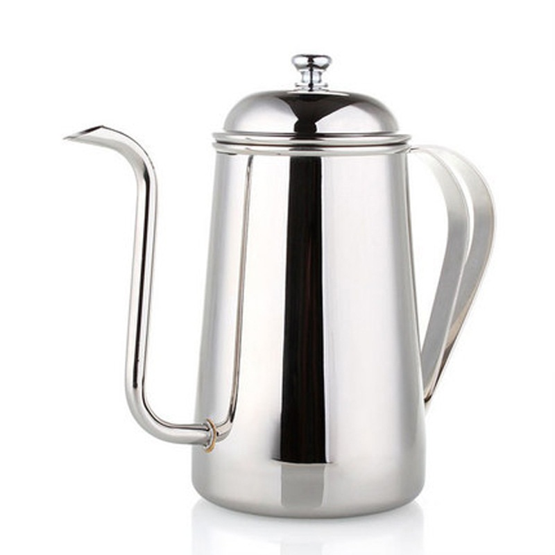 700mL:  700mL Stainless Steel Polished French Presses Coffee Kettle Double Handle Coffee Pot Coffeeware DA - Martin's & Co
