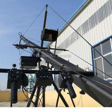Дистанционное управление 3-осевой PTZ головного света профессиональный jimmy jib с Камера кран для продажи 8 м