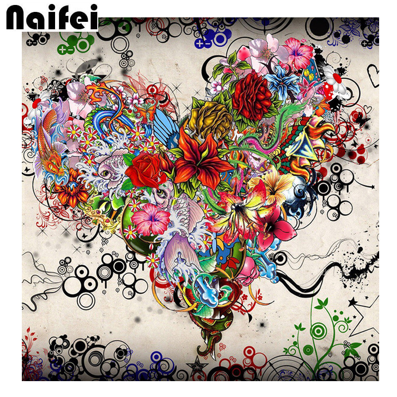 Flowers 5D Diy Diamond Painting Full Square/Round Mosaic Drill Resin Handmade Embroidery Mosaic 3D Cross Stitch Kits