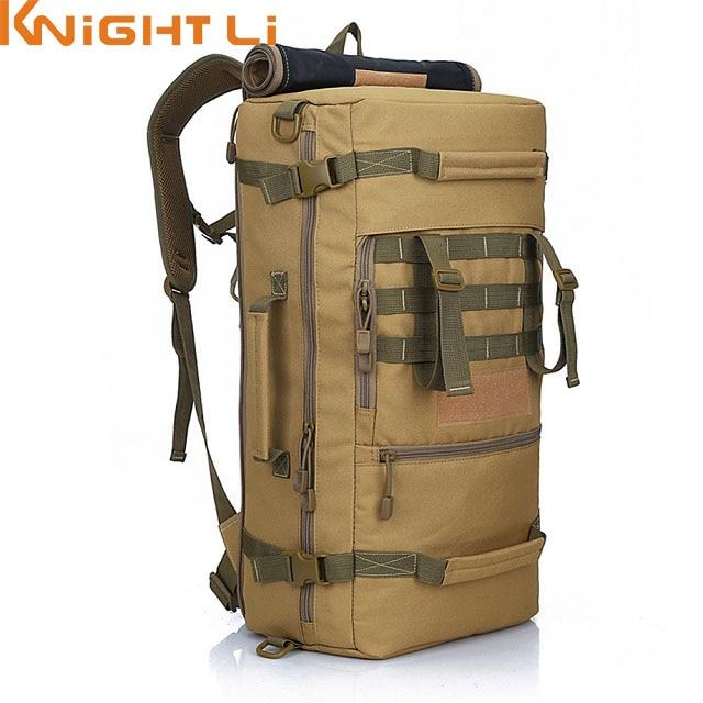 50L New Military Backpack Daypack Shoulder Bag Men's Rucksack back pack mochila feminina 514 4pcs ndfeb magnetic disc dia 20x30 mm 0 79 cylinder n38 strong neodymium magnets rare earth permanent lab magnets sensor
