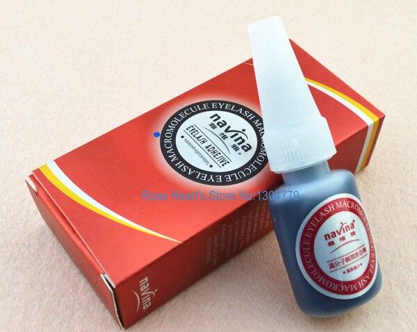 10 Г Без Запаха Черный Индивидуальный Ресницы Расширение Клей ресницы Клей Smelless Для профессиональный Макияж Инструмент