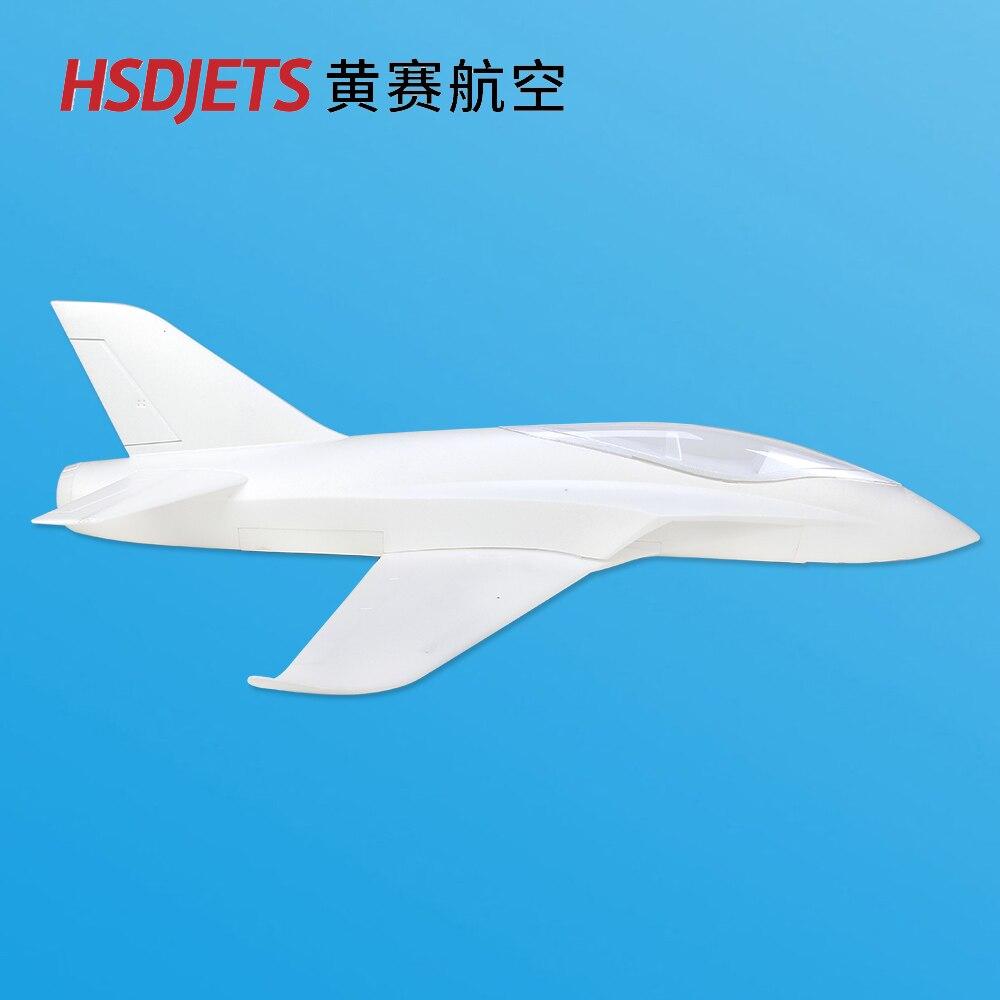 HSD هواية A 903 سونيك KIT903 90 ملليمتر EDF rc طائرة طائرة كيت الأبيض اللون ل DIY-في طائرات تعمل بالتحكم عن بعد من الألعاب والهوايات على  مجموعة 2