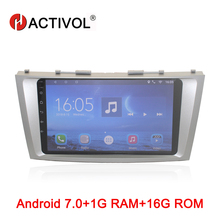 HACTIVOL Android 7.0 Car Radio For Toyota Camry 40 50 2006 2007 2008 2009 2010 2011 Car Video Player GPS Navigation WiFi android 7 0 car radio multimedia player for toyota camry aurion v40 2006 2007 2008 2009 2010 2011 car dvd gps navigation stereo