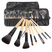 24Pcs makeup brushes Tool Cosmetic Eyeshadow Powder Brush Set pinceaux maquillage with Case bag de pinceis de maquiage