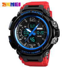 SKMEI Men Watch 50M Waterproof Digital Fashion Watches Outdoor Sport Men Wristwatches Erkek Saat Fashion Clock Relogio Masculino цены онлайн
