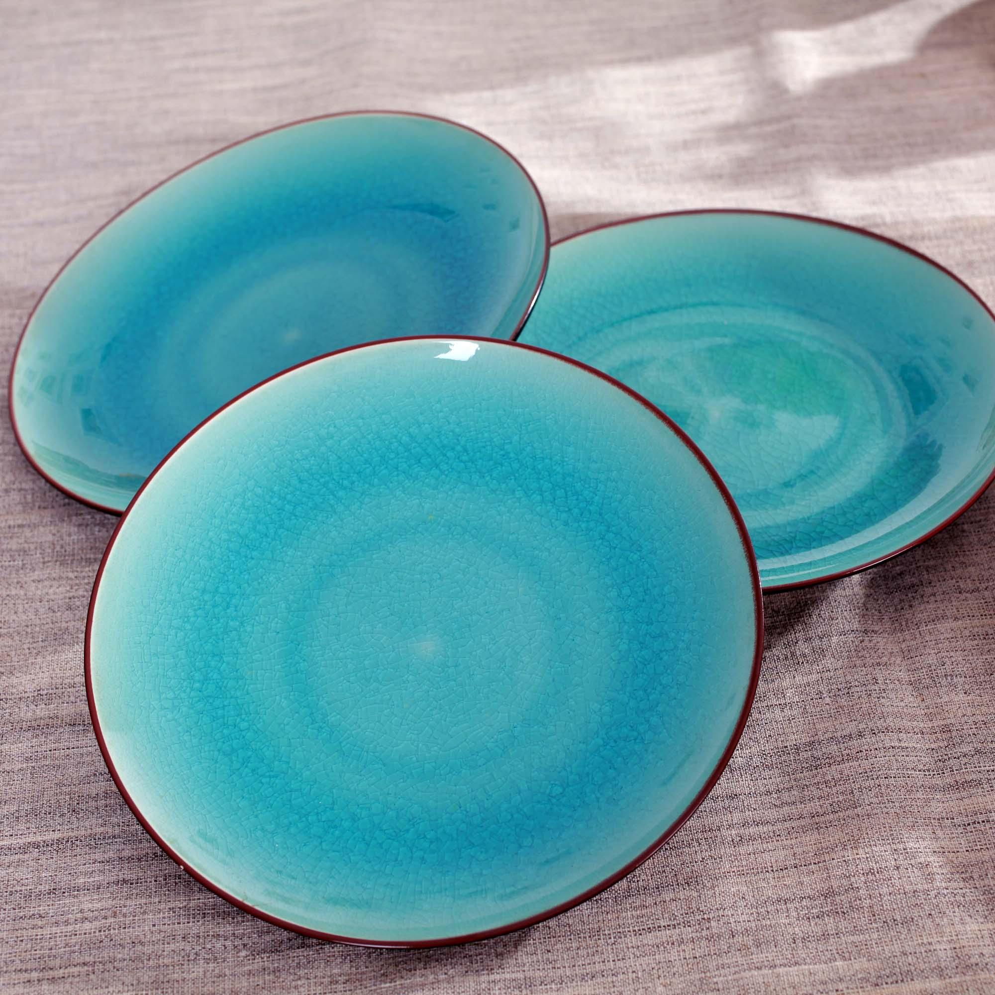 Jingdezhen ceramic crystal glaze dinnerware set 8.5 flat western dishes gift box set piece set-in Porcelain Plates from Home u0026 Garden on Aliexpress.com ... & Jingdezhen ceramic crystal glaze dinnerware set 8.5 flat western ...