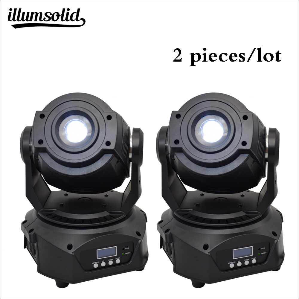 spot High power Color Gobo High brightness 90w moving head light 2Pcs lot