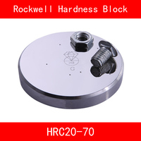 Rockwell HRC20 70 Scales C Metallic Rockwell Hardness Reference Blocks HRC Hardness Test Standard Block for Hardness Tester