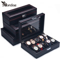 2016 New 10 slot Jewelry Display Stands Vitrine Wrist Watch Showed Tray Holder Bracelets Showcase Bijoux Organizer Box