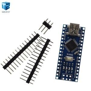 Image 5 - Spedizione gratuita! 20PCS Nano 3.0 controller compatibile per nano CH340 driver USB NESSUN CAVO nano v3.0 per Arduino