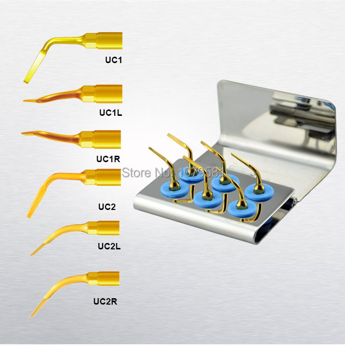 1 SET MSEK piezo surgery tips compatible with Mectron Woodpecker NSK for piezosurgery