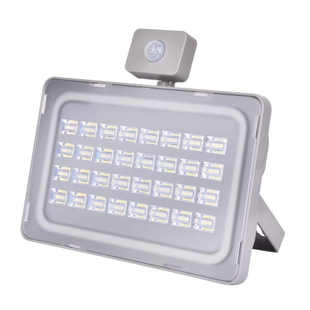 UPGRATE 100W PIR Infrared Motion Sensor LED Flood Light 220V-240V 12000LM PIR Motion Sensor Lamp IP65 Waterproof Outdoor Light