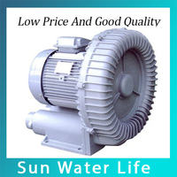 HG 1500 180M3 H Ring Blower Aerator For Ponds Fish Oxygen Pump
