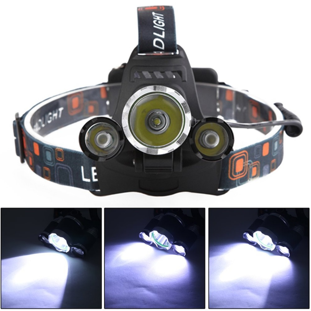 Outdoor Tool Waterproof Rechargeable 5000LM LED Head Light Head Lamp Fishing Light Lantern Camping Headlight Torch Drop Shipping 3800 lumens cree xm l t6 5 modes led tactical flashlight torch waterproof lamp torch hunting flash light lantern for camping z93