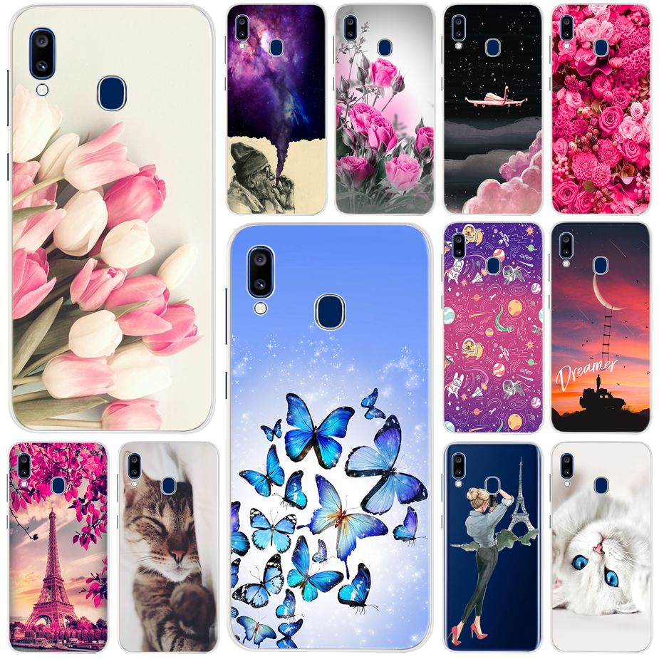 Phone Shell For Samsung Galaxy A20e A 20 E A20 2019 Case Silicone Soft TPU Back Cover For Samsung A20 A20E Case Cute Funda Capas