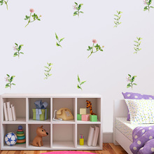 PA303 wall stickers plant fresh decoration personality living room bedroom cabinet door