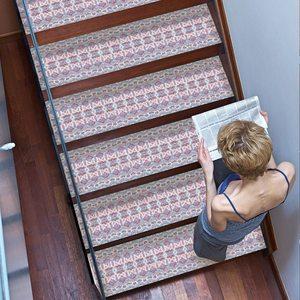 Image 3 - Autocollants descalier de Style bohémien