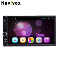 Navivox 7 Android6 0 2din Universal GPS Navigation Radio Stereo Audio Player 1024 600 RDS SWC