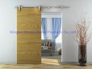 Бесплатная доставка Dimon нержавеющая сталь 304 Горячая продажа деревянные раздвижные двери оборудование DM-SDS 7103 без раздвижных рельсов