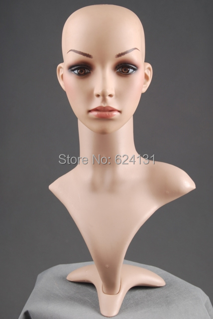 Popular mannequin head buy cheap mannequin head lots from for Lady mannequin jewelry holder