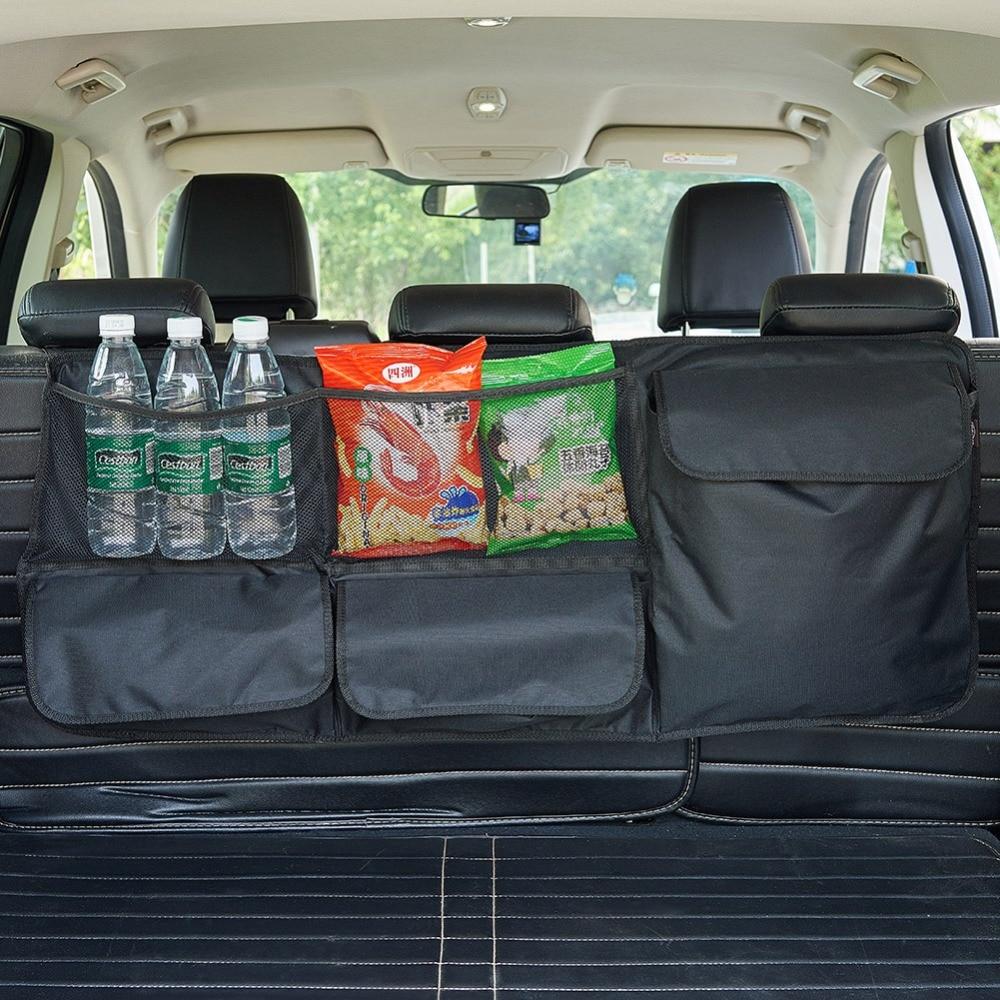 trunk box backseat organizer car suv trunk organizer car suv storage  large durable pockets