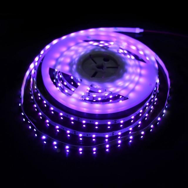 New uv ultraviolet purple led strip 3528 smd 300leds 60ledm 5m new uv ultraviolet purple led strip 3528 smd 300leds 60ledm 5m flexible light dc12v aloadofball Images