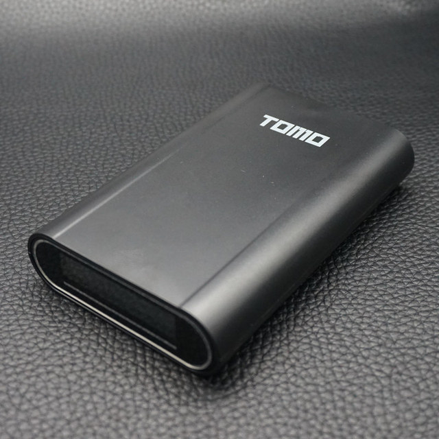 TOMO V8-4 Intelligent Portable DIY Display Power Bank Box 18650 Battery Charger 5V2A Powerbank Case Tomos For Iphone(NO Battery)