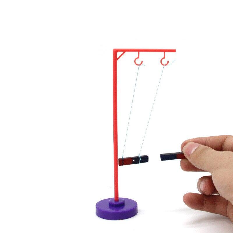 DIY Развивающие игрушки магнитная плавающей компас магнит ручной работы волшебный наука игрушка для детей забавные узнать в игре