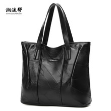Sheepskin Stitching Handbag Handbag For Women Shopper Tote Luksus Designer Sac En Main High Quality Vintage Fashion Shoulder Bag