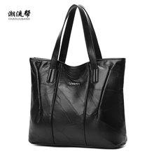 4090c5411c9 Schapenvacht Stiksels Handtas Handtas Voor Vrouwen Shopper Luxe Designer sac  een Hoge Kwaliteit Vintage Mode Schoudertas