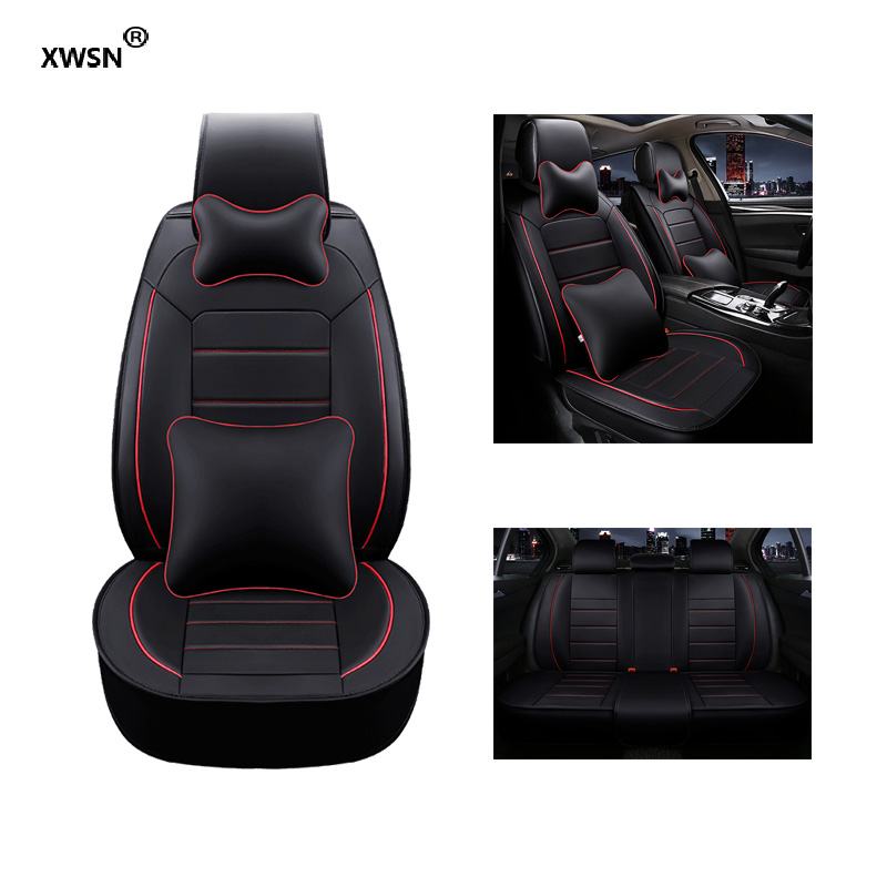 car seat cover for vw polo accessories vw golf 5 4 6 passat b5 b6 b7 polo 9n beetle jetta touran tiguan Car accessories babaai for volkswagen vw polo golf fox beetle passat tiguan pu leather weave ventilate front
