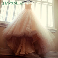 Cheap Price High Quality Luxury Puffy Sweetheart Wedding Gowns China Aliexpress Ball Gown Champagne Wedding Dresses 2019