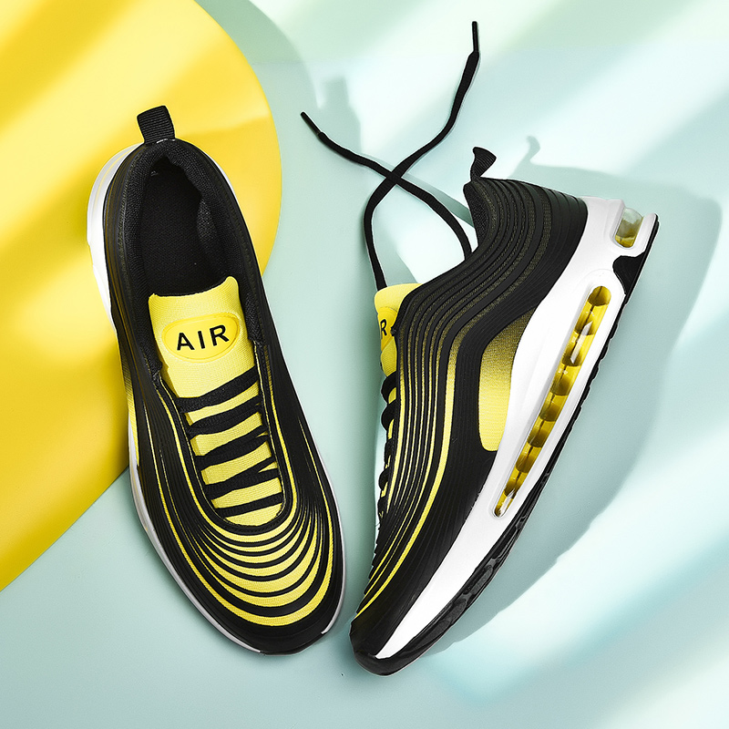 Brand Designer Sport Running Shoes Air Cushion Lightweight Breathable Sneakers Spring Fashion Women Men Running Shoes