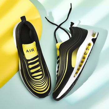 New  Brand Designer Sport Running Shoes Air Cushion Lightweight Breathable Sneakers Spring Fashion Women men Running Shoes